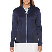 Callaway Women's Opti-Dri Heathered Panel Golf Jacket