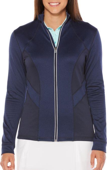 Callaway Women's Opti-Dri Heathered Panel Golf Jacket