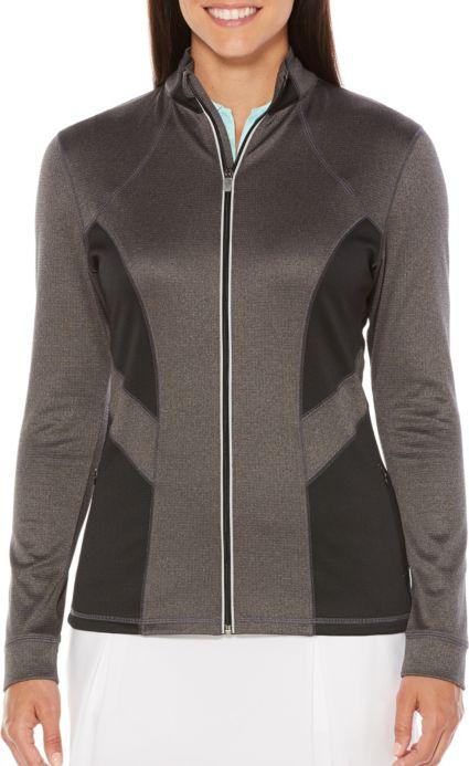 Callaway Women's Opt-Dri Solid Panel Golf Jacket