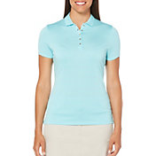 Callaway Women's Opti-Dri Tonal Stripe Golf Polo