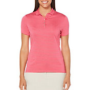 Callaway Women's Opti-Dri Tonal Stripe Golf Polo