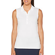 Callaway Women's Opti-Dri Sleeveless Golf Polo - Extended Sizes