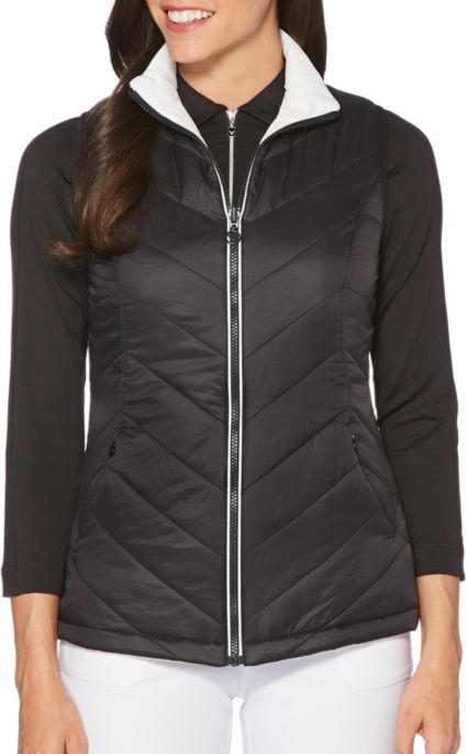 Callaway Women's Thermal Quilted Reversible Golf Vest