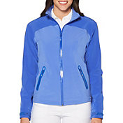 Callaway Women's Waterproof Tonal Panel Golf Jacket