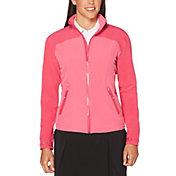 Callaway Women's Waterproof Tonal Panel Golf Jacket