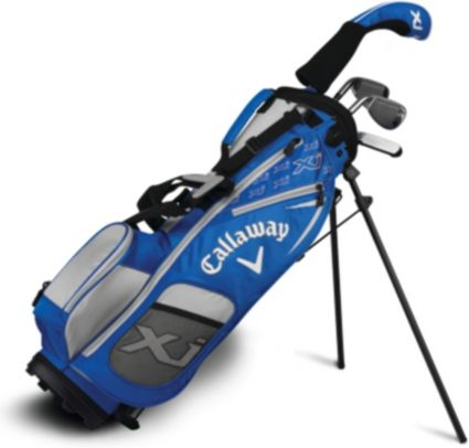 "Callaway Junior XJ1 4-Piece Complete Set – Blue – (Height 38"" - 46"")"