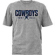 Dallas Cowboys Merchandising Boys' Purpose Grey T-Shirt