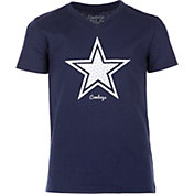 Dallas Cowboys Merchandising Girls' Comet Navy T-Shirt