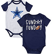 Dallas Cowboys Merchandising Infant Vito 2-Piece Onesie Set