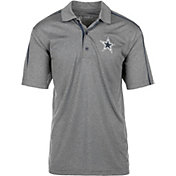 Dallas Cowboys Merchandising Men's Javen Charcoal Polo