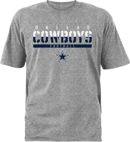 Dallas Cowboys Merchandising Men s Ruthless Grey T-Shirt. noImageFound 7e35d6fab