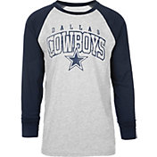 Dallas Cowboys Merchandising Men's Boulder Grey Raglan Shirt