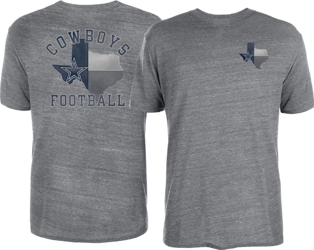 d9c02892 Dallas Cowboys Merchandising Men's Proud Texan Grey T-Shirt | DICK'S ...