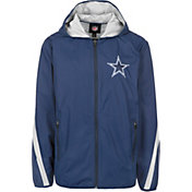 G-III Men's Dallas Cowboys Endzone Navy Full-Zip Jacket