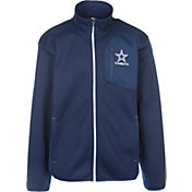 G-III Men's Dallas Cowboys Routine Navy Full-Zip Jacket