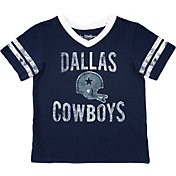 Dallas Cowboys Merchandising Toddler Lincoln Navy T-Shirt