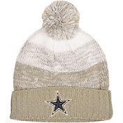 Dallas Cowboys Merchandising Women's Blaine White Pom Knit
