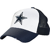 Dallas Cowboys Merchandising Women's Lisburn Sequins Navy Adjustable Hat