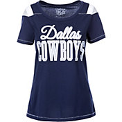 Product Image · Dallas Cowboys Merchandising Women s Flapper Glitter Navy T- Shirt 9e7b7b1ed