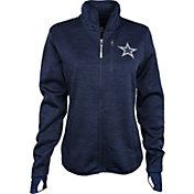 G-III Women's Dallas Cowboys Slap Shot Navy Full-Zip Jacket