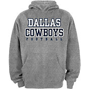 Dallas Cowboys Merchandising Youth Grey Practice Hoodie