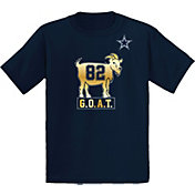 Dallas Cowboys Merchandising Youth Jason Witten #82 G.O.A.T Navy T-Shirt