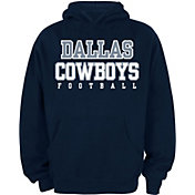Dallas Cowboys Merchandising Youth Navy Practice Hoodie