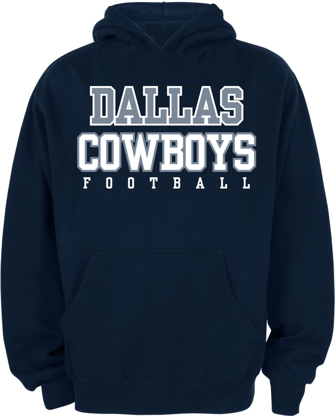 official photos 26175 5c246 Dallas Cowboys Merchandising Youth Navy Practice Hoodie