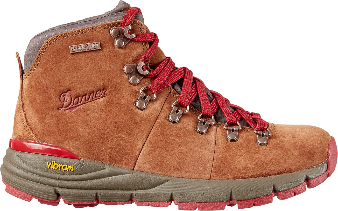 Danner Women's Mountain 600 4.5'' Suede Waterproof Hiking Boots