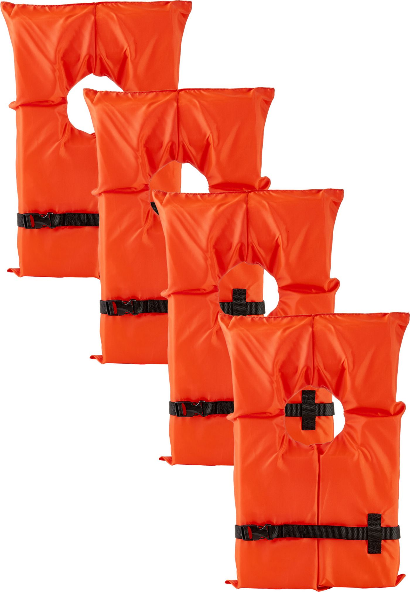 DBX Adult Type II Life Vest- 4-Pack