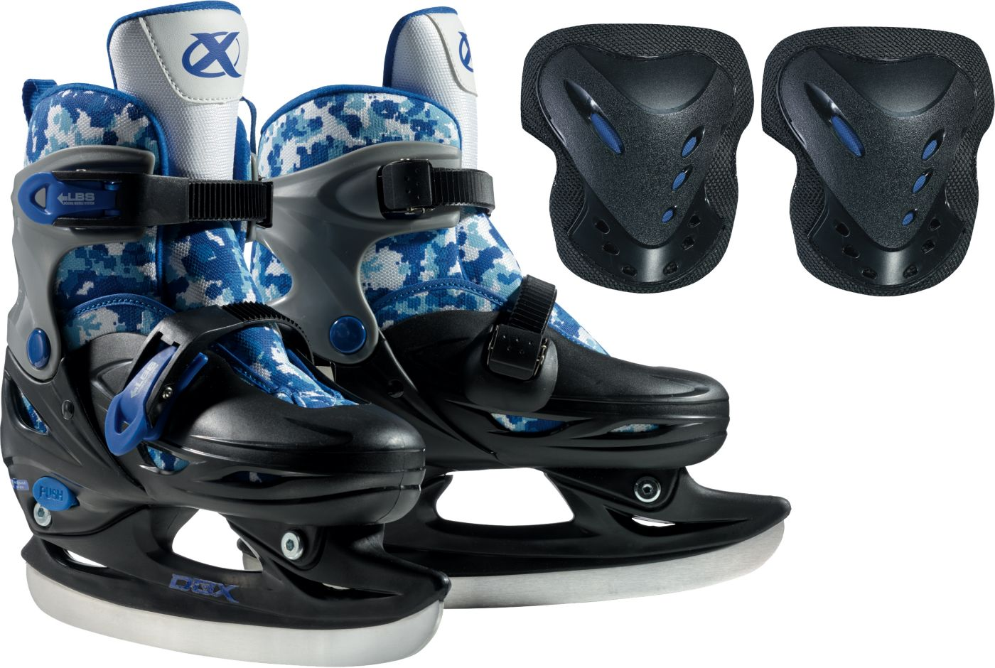 DBX Boys Adjustable Skate Package