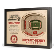 You the Fan Alabama Crimson Tide 25-Layer StadiumViews 3D Wall Art