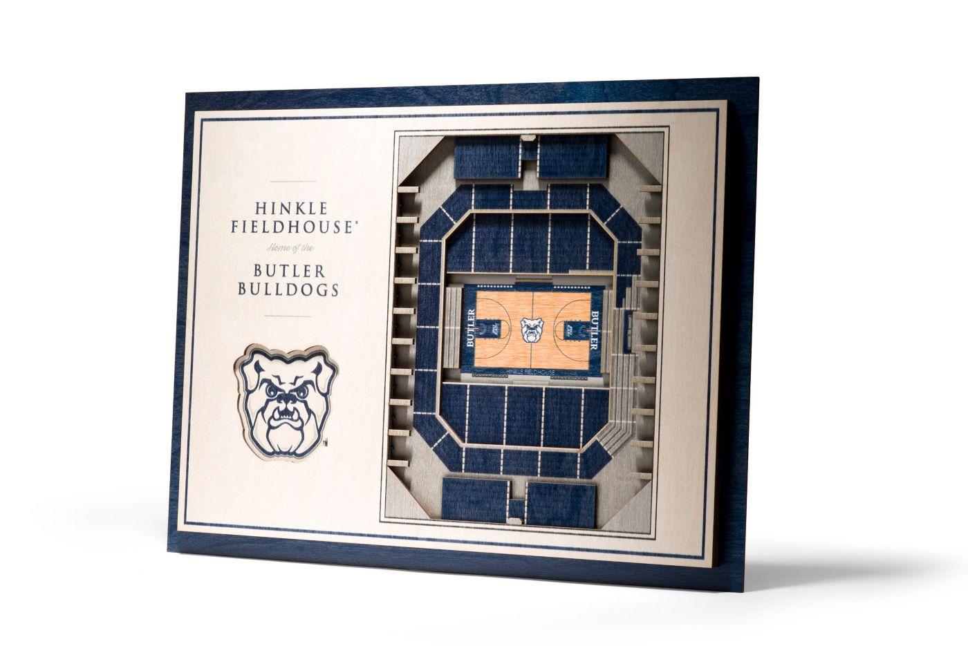 You the Fan Butler Bulldogs 5-Layer StadiumViews 3D Wall Art