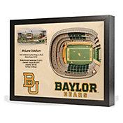 You the Fan Baylor Bears 25-Layer StadiumViews 3D Wall Art