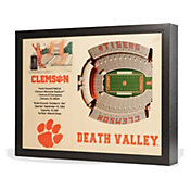 You the Fan Clemson Tigers 25-Layer StadiumViews 3D Wall Art