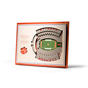 You the Fan Clemson Tigers 5-Layer StadiumViews 3D Wall Art