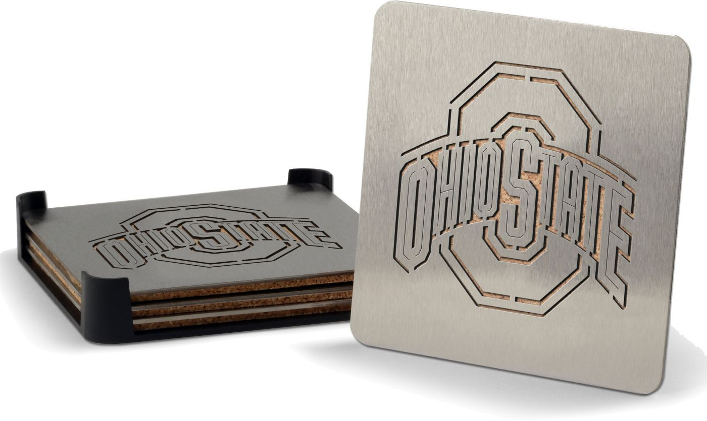 You the Fan Ohio State Buckeyes Coaster Set