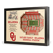 You the Fan Oklahoma Sooners 25-Layer StadiumViews 3D Wall Art