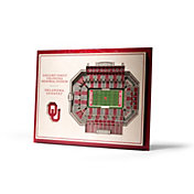 You the Fan Oklahoma Sooners 5-Layer StadiumViews 3D Wall Art