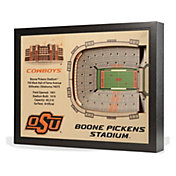 You the Fan Oklahoma State Cowboys 25-Layer StadiumViews 3D Wall Art
