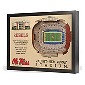 You the Fan Ole Miss Rebels 25-Layer StadiumViews 3D Wall Art