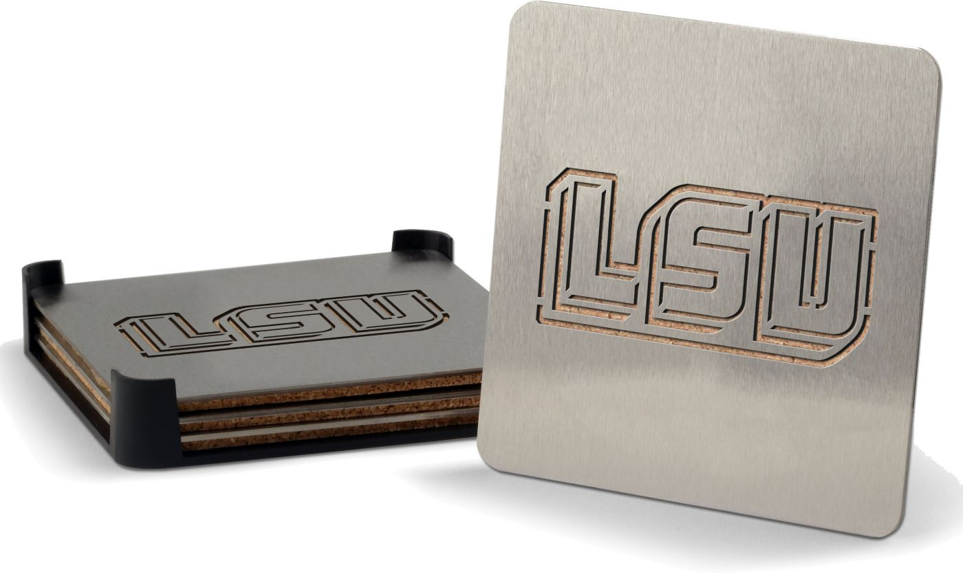 You the Fan LSU Tigers Coaster Set