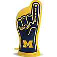 You The Fan Michigan Wolverines #1 Oven Mitt