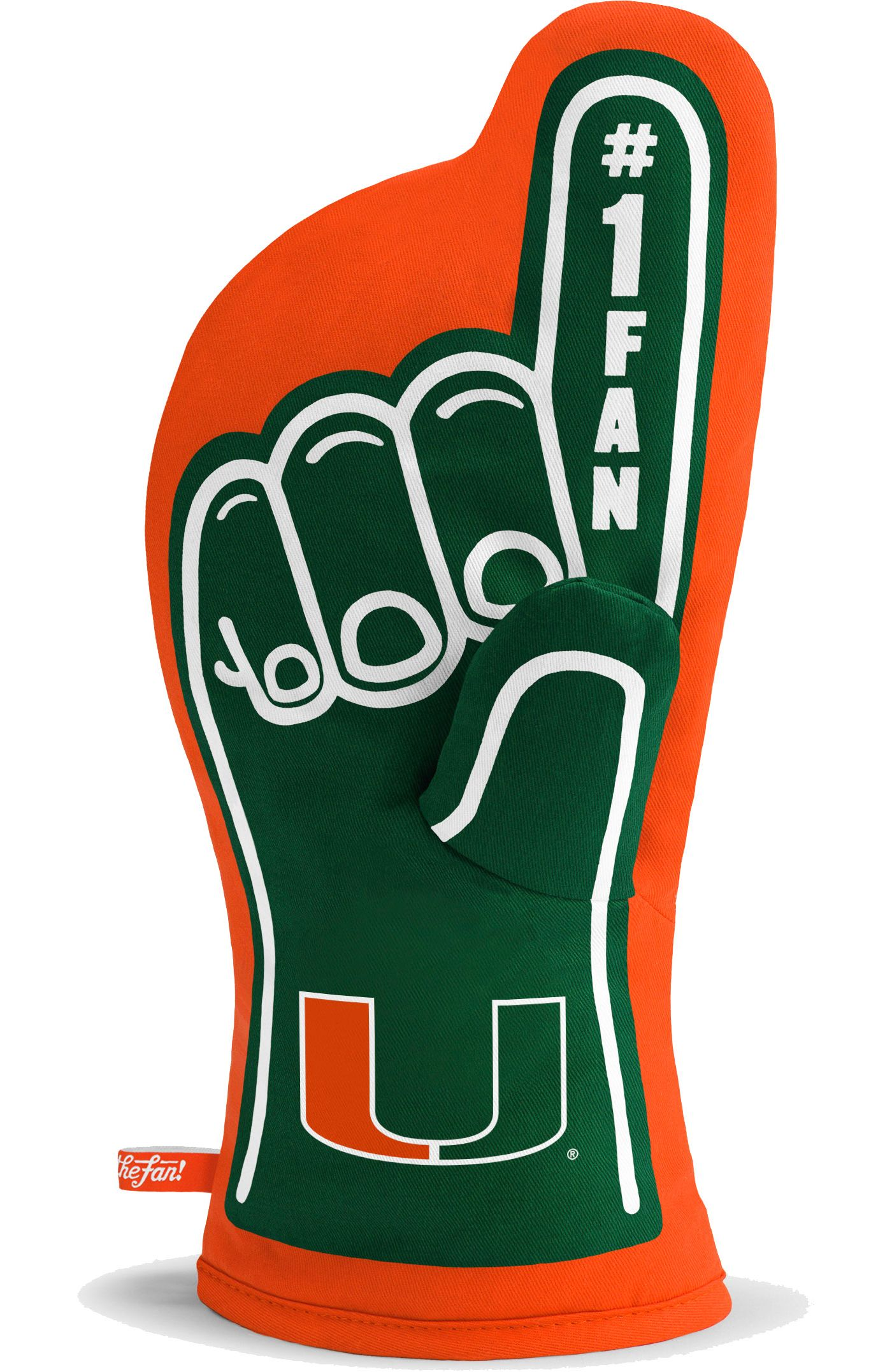 You The Fan Miami Hurricanes #1 Oven Mitt