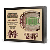 You the Fan Mississippi State Bulldogs 25-Layer StadiumViews 3D Wall Art