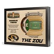 You the Fan Missouri Tigers 25-Layer StadiumViews 3D Wall Art