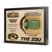 You the Fan Missouri Tigers 25-Layer StadiumViews 3D Wall Art