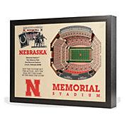 You the Fan Nebraska Cornhuskers 25-Layer StadiumViews 3D Wall Art