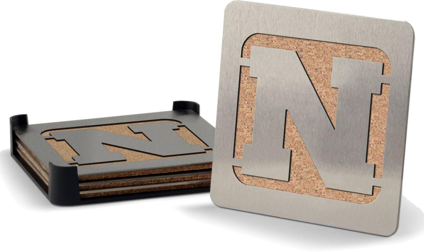 You the Fan Nebraska Cornhuskers Coaster Set