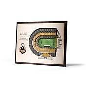 You the Fan Purdue Boilermakers 5-Layer StadiumViews 3D Wall Art